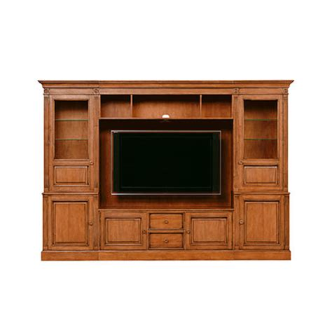 glass cabinet doors for entertainment center shop media consoles living room entertainment cabinets