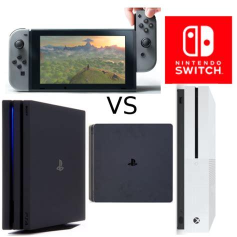 nintendo switch versus sus rivales ps4 slim xbox one s movil para juegos y ps4 pro opini 243 n y