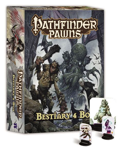 starfinder pawns archive pawn box books apr142383 pathfinder pawns bestiary 4 box previews world
