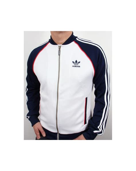Conbipel Original Top White adidas originals superstar track top white navy adidas superstar track top white