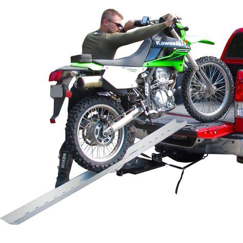 aluminum folding straight single runner motocross dirt