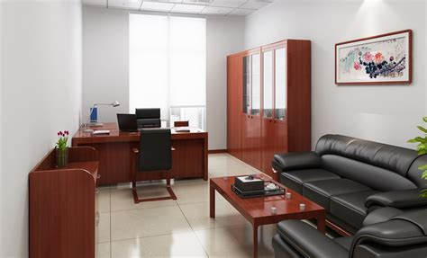 Small Office Interior Design With Furniture Sets 3d House Free 3d House Pictures