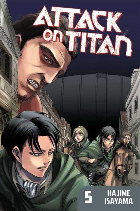 attack on titan volumes attack on titan 5 kodansha comics