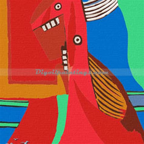 picasso paintings number paint by number kits picasso roar 40cmx50cm dopa000465