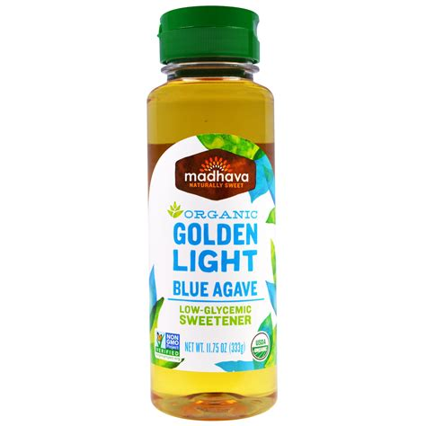 what sweetener is in light madhava sweeteners organic golden light blue
