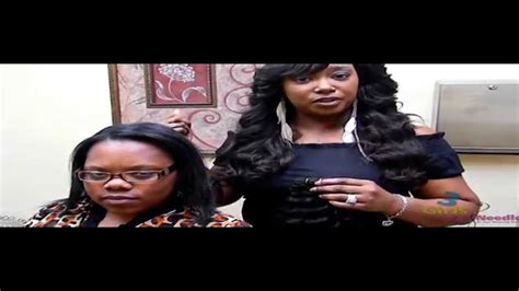 how to do the jennie mae sew in 3 girls and a needle s jennie mae braidless sew in with