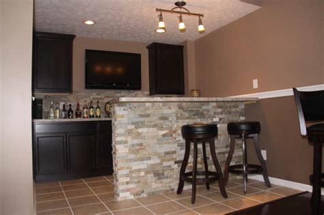 Basement Bar Ideas Cleveland   Eclectic   Basement