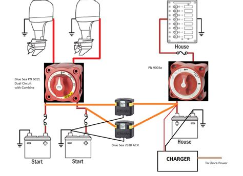 outboard 2 batts and wiring hardware suggestions the hull boating and fishing forum
