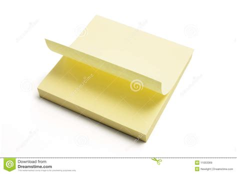 pad free post it note pad royalty free stock images image 11053369