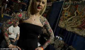 tattoo girl new show british woman travels to new york to finish two year