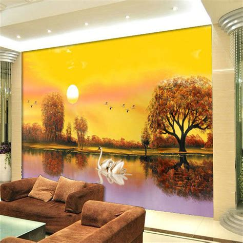3d wall painting for your bedroom aliexpress com buy custom any size 3d nature landscape
