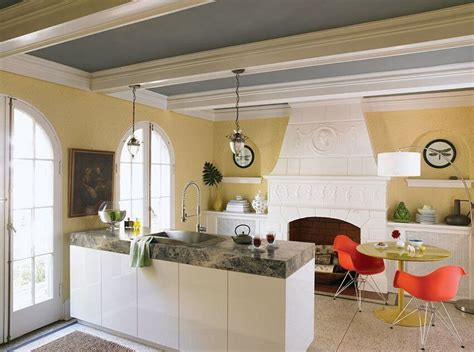 10 charming gray and yellow kitchen design ideas https