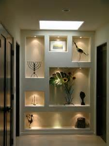 Recessed Display Cabinet Lighting Wall Niches Design Tips Ideas
