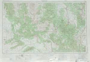 topographical map of arizona prescott topographic maps az usgs topo 34112a1 at