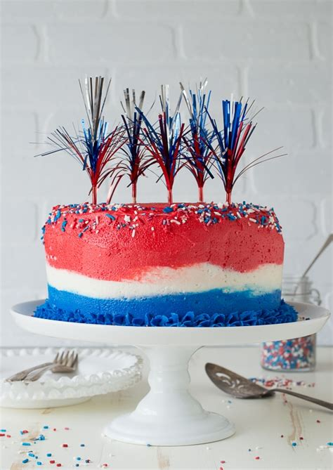 july ombre cake   year