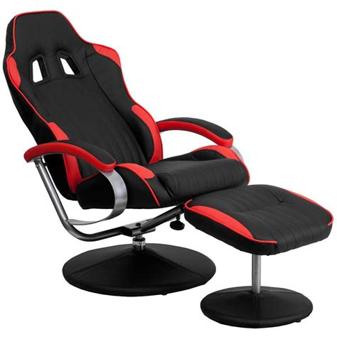 cool recliners racing bucket seat recliner racecar game room lounge chair