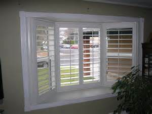 Shades For Bow Windows shutters for bay window yelp