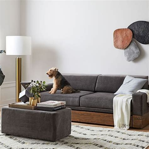 Daybed Sofa With Trundle by Emery Sofa Daybed W Trundle West Elm
