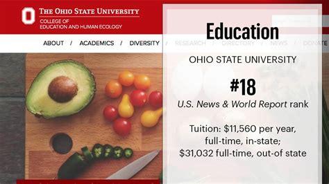 Ohio State Mba Tuition by Ohio S Best Graduate Schools Based On U S News World