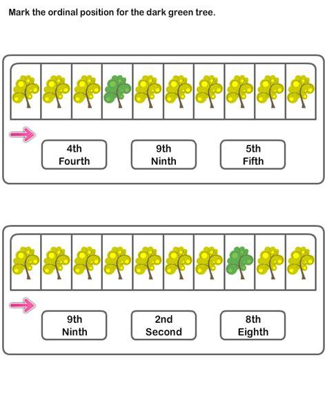 free printable math worksheets ordinal numbers ordinal numbers worksheet 9