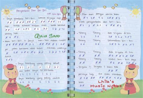 Keyboard Headband Hiasan Piano Rambut Bayi not lagu ost kartun dan anime lhia s notes