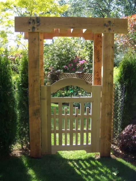 Garden Arbor And Fence 17 Best Images About Entrance Arbors On