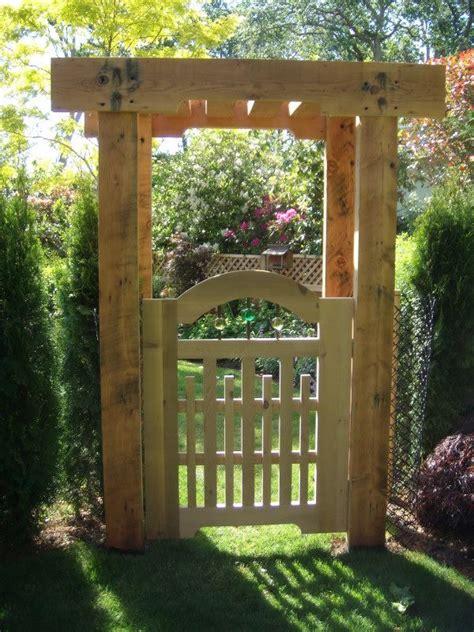 Garden Arbor Gate Designs 25 Gorgeous Arbor Gate Ideas On Garden Arbor