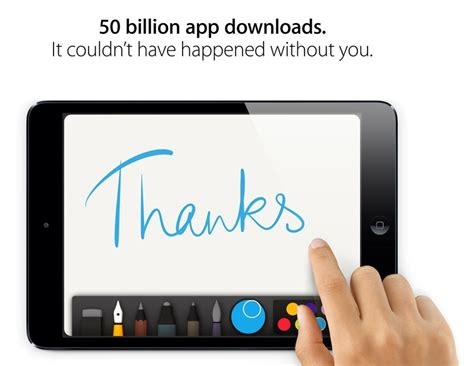 Apple Gift Card Mac App Store - apple s app store reaches 50 billion downloads now on pace for 20 billion apps per