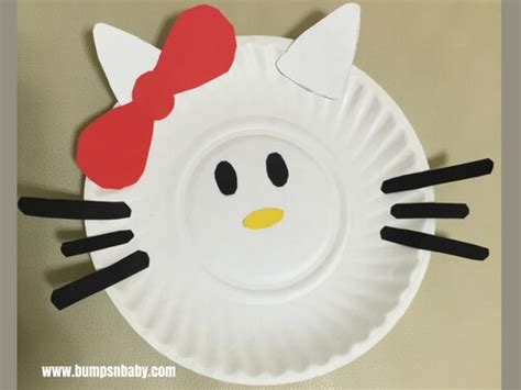 Hello Paper Craft - 4 paper plate craft ideas you can do with your preschooler