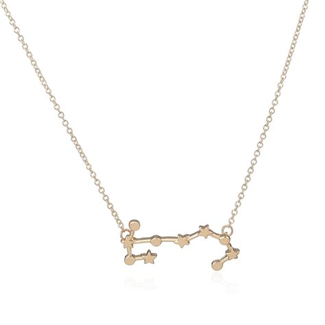 aliexpress buy 2016 new gold necklace scorpio zodiac