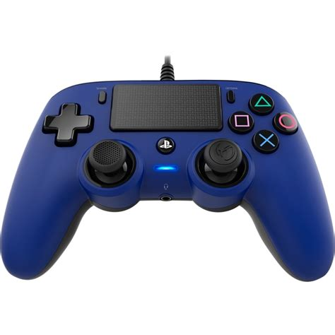 Controller Ps4 Wired nacon compact wired controller blue ps4 ozgameshop
