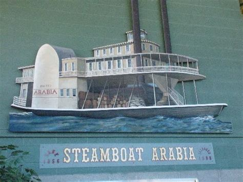 steamboat arabia entrance picture of arabia steamboat museum kansas city