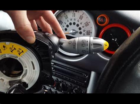 airbag deployment 2003 mini cooper navigation system mini cooper r53 indicator stalk wiper stalks airbag slip ring sensor squib replacement youtube