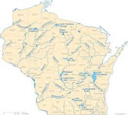 wisconsin map map of wisconsin