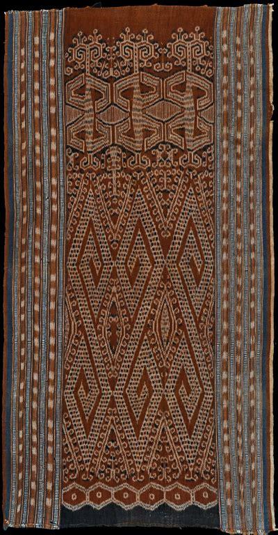 Borneo Ikat pusaka collection of ikat textile 242 borneo