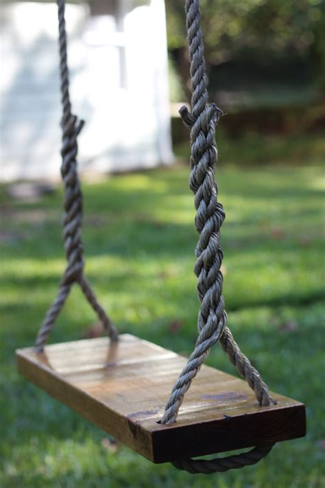 tree swing rope tree swing rustic rope tree swing satisfaction guaranteed