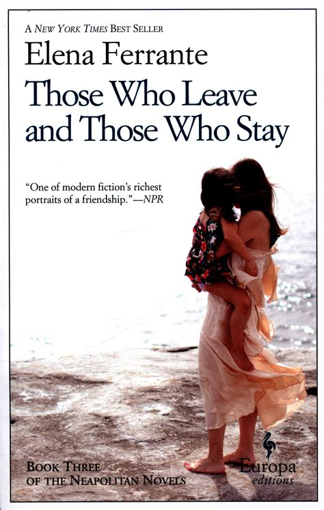 those who leave and those who stay by ferrante elena 9781609452339 brownsbfs