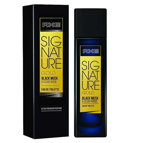 Parfum Axe Black Gold axe signature gold black musk and cedar wood edt perfume 80ml for buy axe signature gold