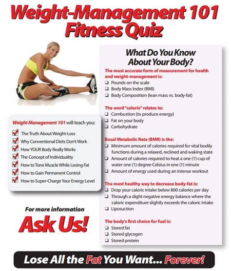weight management questions weight management 101 fitness quiz