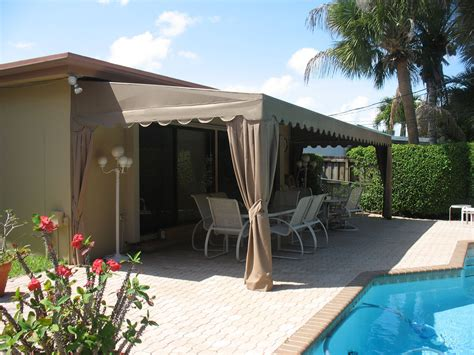 lean to awning lean to patio awning with curtains lloydton awnings
