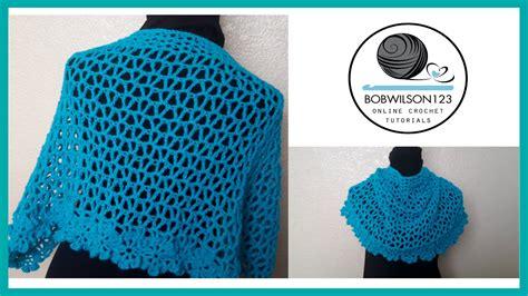 shawl pattern youtube crochet shawl tutorial youtube