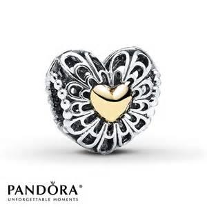 Monogram Initial Bracelet Jared Pandora Charm Vintage Heart Sterling Silver 14k Gold