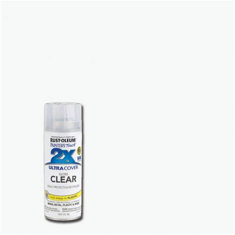 spray paint clear coat rust oleum painter s touch 2x 12 oz gloss clear general