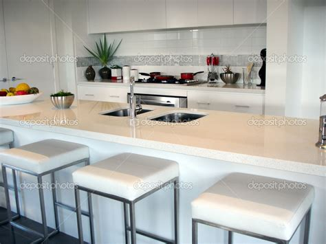 Open Kitchen Bar Design Best Design Ultramodern White Open Plan Kitchen Breakfast Bar Decosee