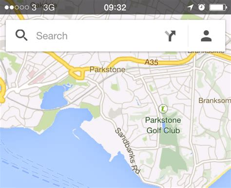 map search how to get maps on iphone and