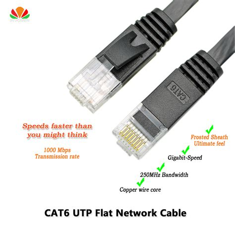 Kabel Flat Utp Cat5 25cm 6ft 2m cat6 ethernet cable flat utp cat6 network cable
