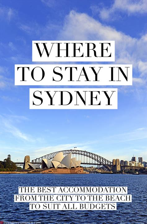 deciding where to stay at where to stay in sydney our sydney hotel guide for all