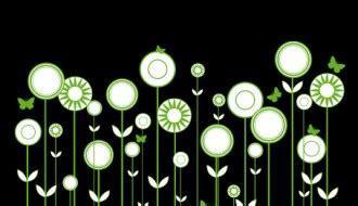 fiori stilizzati vettoriali vettoriali gratis it free vectors tag archive