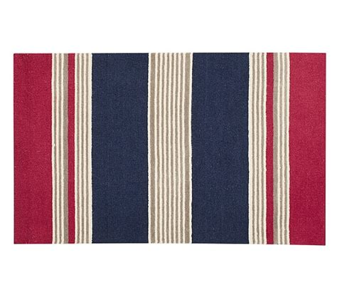 pottery barn striped rug emmett stripe rug pottery barn