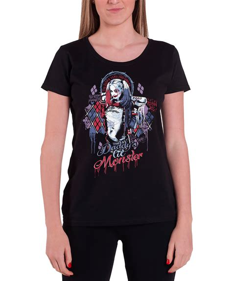 Joker And Harley Quinn Mini 2 T Shirt squad t shirt womens daddys lil harley quinn joker fit ebay